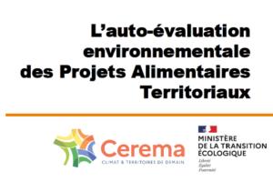 Evaluation de l'impact sur l'environnement des PAT